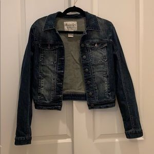 Lightly Distressed Jean Jacket